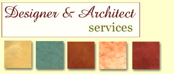 Interior Designer and Architect Services